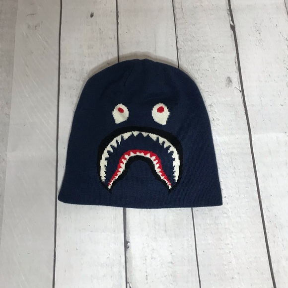 d821c06009c08 Bape Other - Bape Shark Beanie